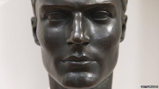 Bust of Col Claus Schenk Graf von Stauffenberg