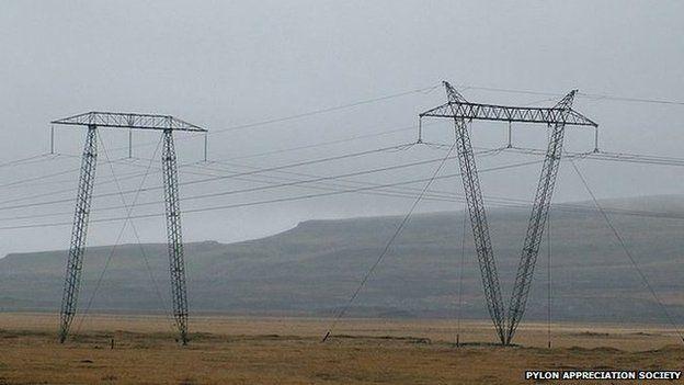 Iceland pylon