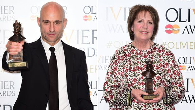 Mark Strong and Penelope Wilton