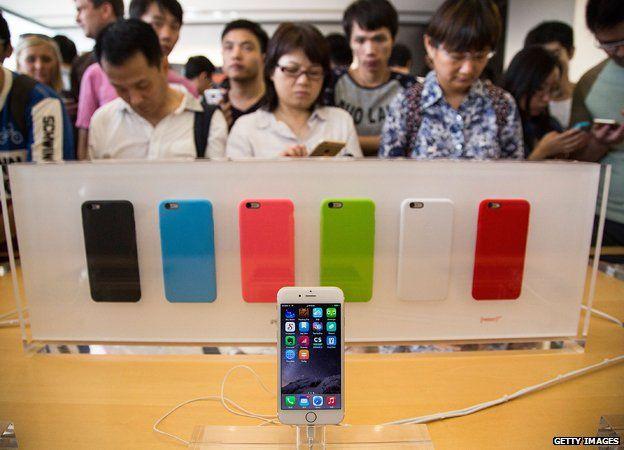 HK at iphone 6