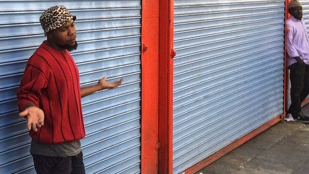 Shops closed in Johannesburg (15 April 2015)