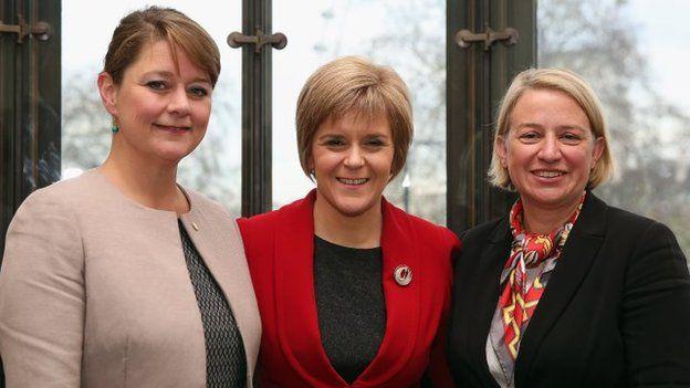 Leanne, Nicola, Natalie