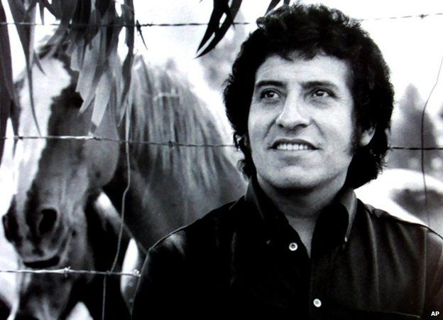 Prominent Chilean folk singer Victor Jara