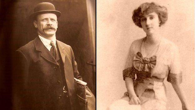 Fe gwrddodd Thomas Jones â Iarlles Rothes ar fâd achub y Titanic, a pharhau'n ffrindiau mawr.