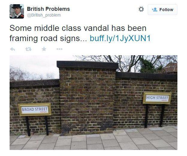 British Problems tweet