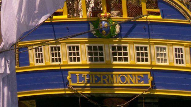 Hermione in La Rochelle