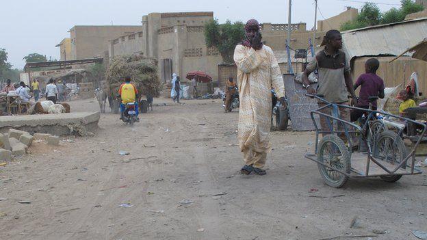 Gao street scene, Mali