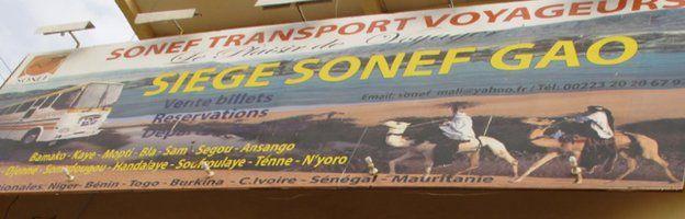 Sonef sign in Gao