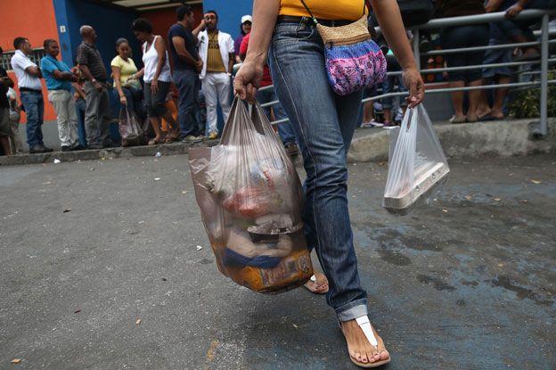 Successful shopper, Venezuela