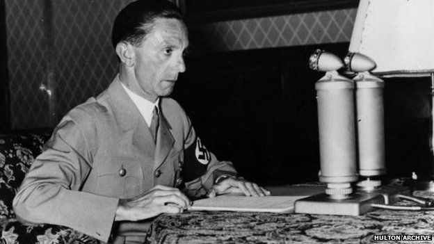 Goebbels' estate sues Random House for diary royalties - BBC News