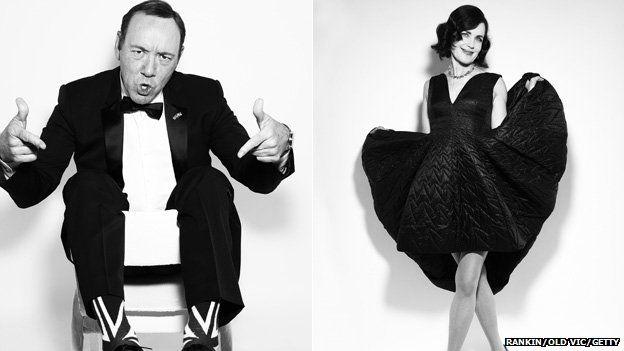 Kevin Spacey, Elizabeth McGovern