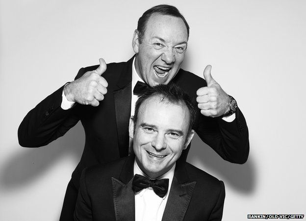Kevin Spacey and Artistic Director Designate Matthew Warchus