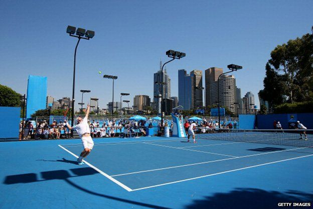Australian Tennis Open - 2014