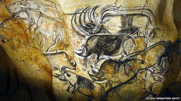 Chauvet cave replica