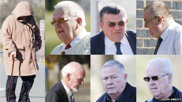 Gary Cooke, George Phoenix, Keith Stokes, Roy Norry, Edward Huxley, David Lightfoot a Roger Griffiths