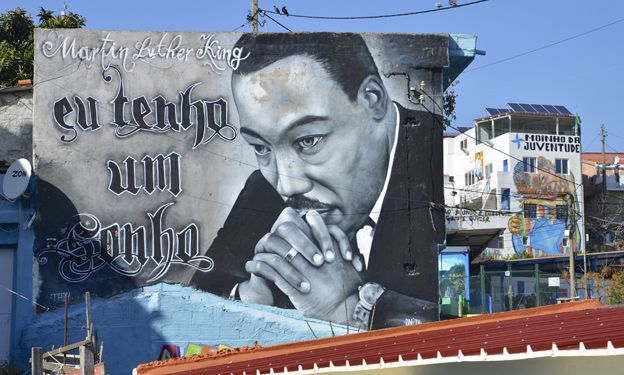 Mural of Martin Luther King