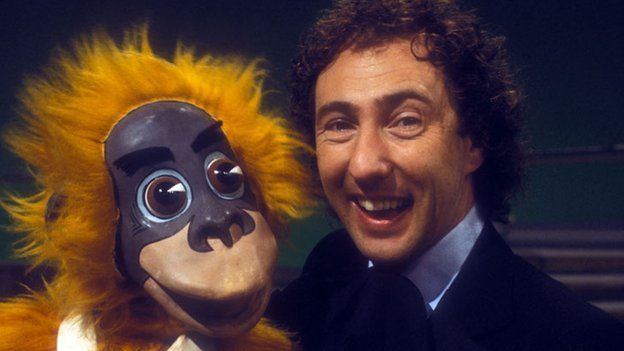 Cuddles and Keith Harris