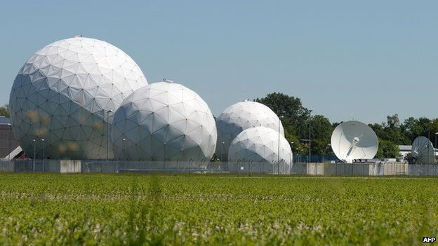 Bad Aibling listening post - file pic