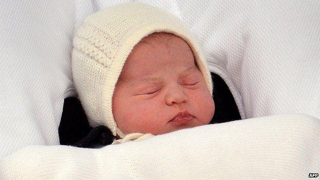 Newly-born daughter of Duke and Duchess