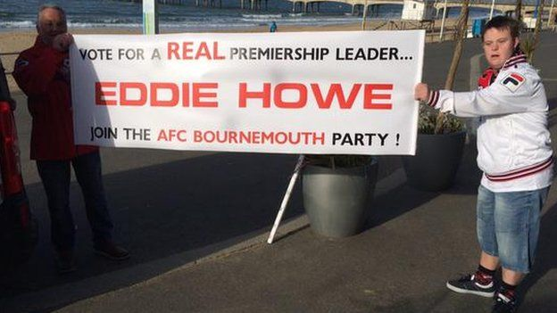 Bournemouth fans gather ahead of victory parade