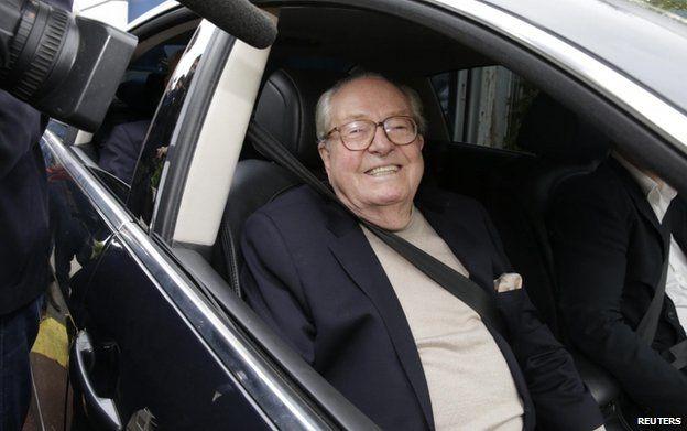 Jean-Marie Le Pen (4 May)