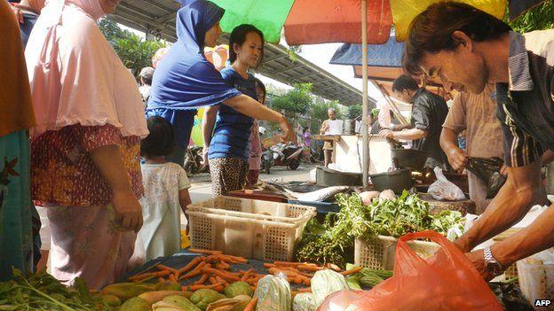 Jakarta market