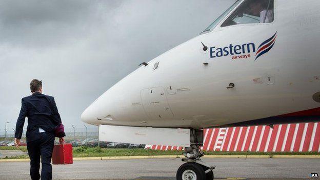 David Cameron arrives at Newquay airport
