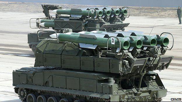 Buk missiles (pic: Mil.ru website)