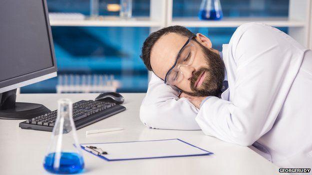 Sleeping Scientist