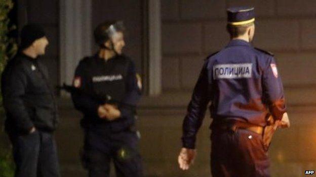 Bosnian Serb police. Photo: 27 April 2015