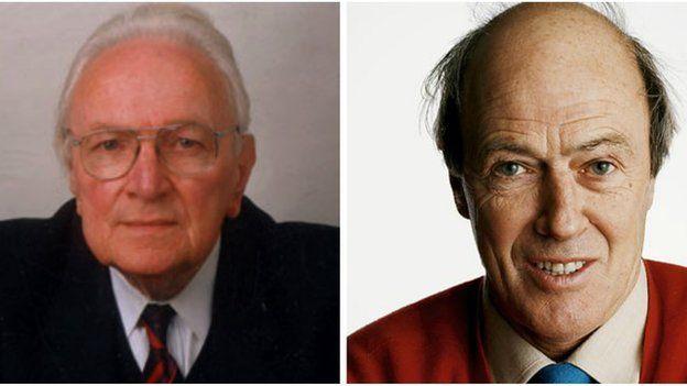 Dau frenin llenyddiaeth plant: T Llew Jones a Roald Dahl