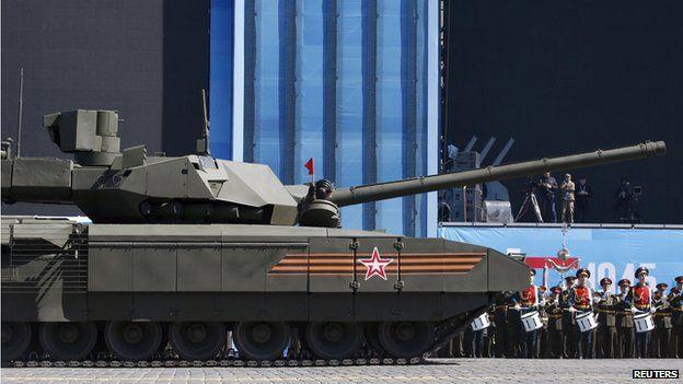 Armata T-14 tank, 7 May 15