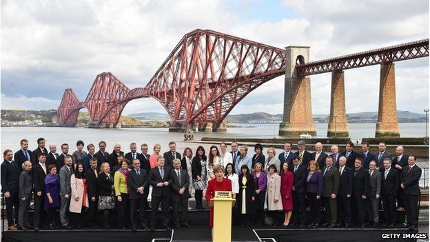 The SNP got 56 MPs at the election