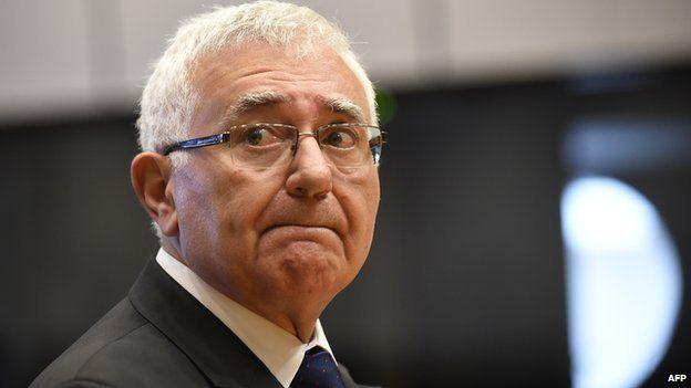 Maltese ex-Commissioner John Dalli