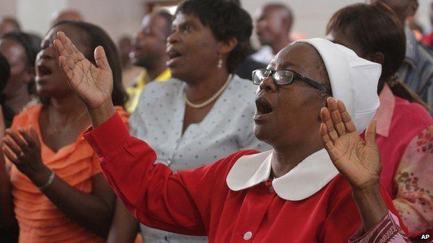 Trinity Methodist church in Harare