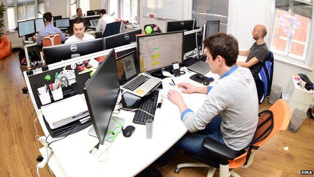 Staff at HMA's headquarters in Soho