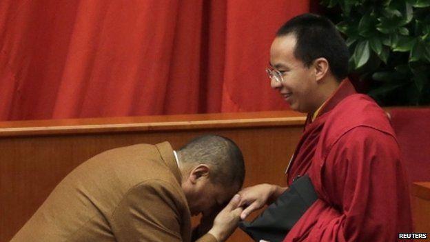 Gyaltsen Norbu, the Chinese-backed 11th Panchen Lama