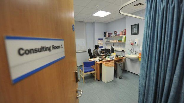 A doctor's consulting room
