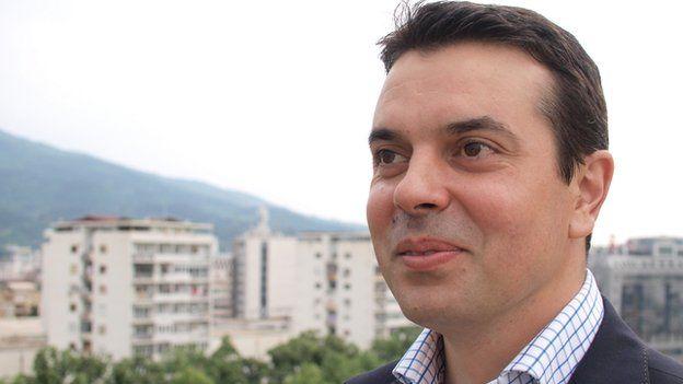Foreign Minister Nikola Poposki