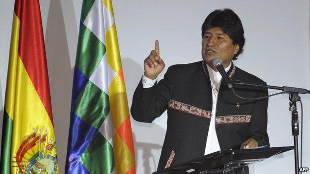 Evo Morales, 24 April 2015