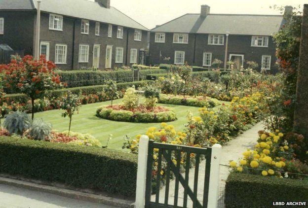 Prize-winning garden at Sheppey Road