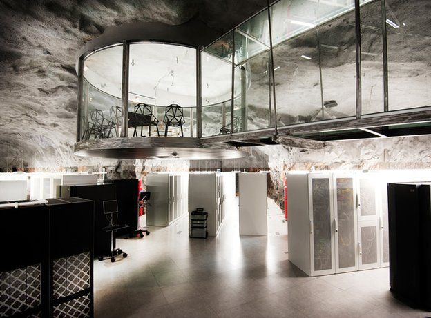 An underground data centre