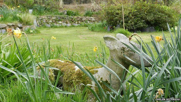 A scene from Penwith Pet Crematorium's burial grounds