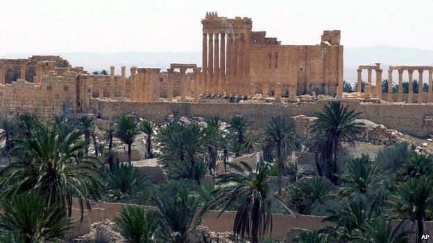 A general view of the ancient Roman city of Palmyra, northeast of Damascus, Syria, released by Syrian news agency (Sana) (File photo)