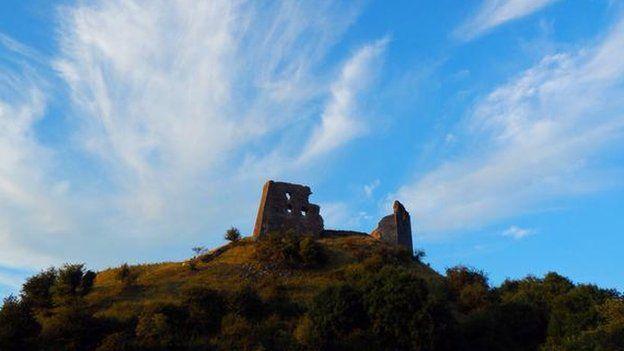 Castell Dryslwyn - Steffan John