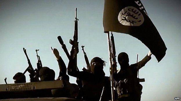 IS militants