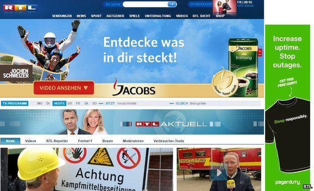 RTL news site