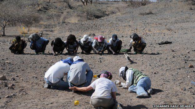 Dig in Ethiopia