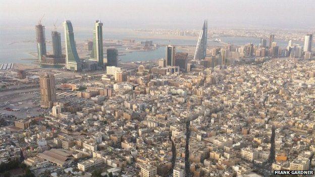Views over Bahrain