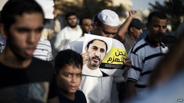 Protests over the arrest of Ali Salman